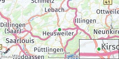 Google Map of Heusweiler