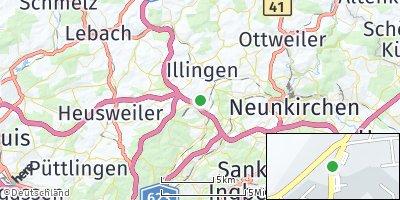 Google Map of Merchweiler