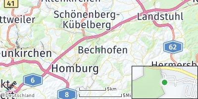 Google Map of Bechhofen