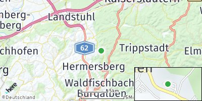 Google Map of Linden
