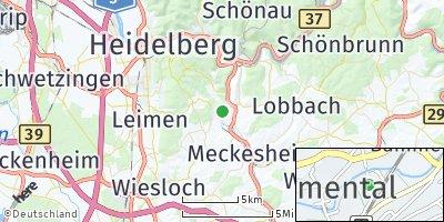 Google Map of Bammental