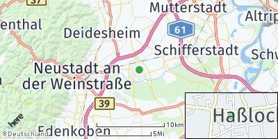 Google Map of Haßloch