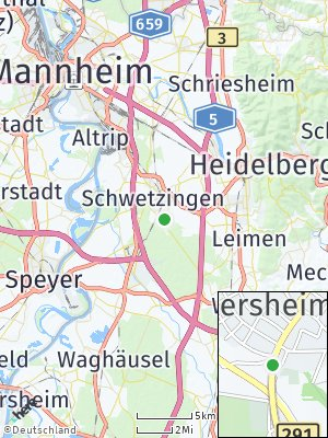 Here Map of Oftersheim