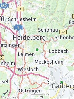 Here Map of Gaiberg
