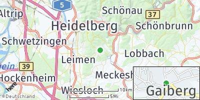 Google Map of Gaiberg