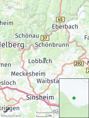 Here Map of Lobbach