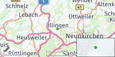 Google Map of Illingen