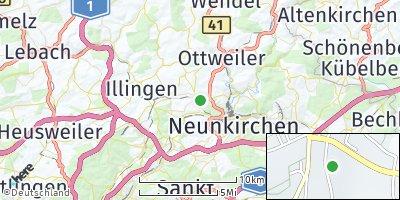 Google Map of Schiffweiler