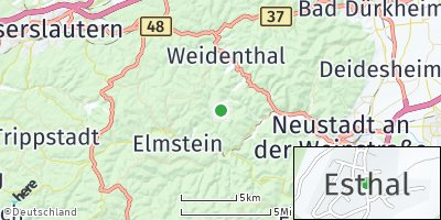 Google Map of Esthal