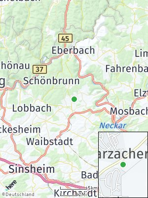 Here Map of Schwarzach