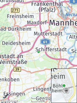 Here Map of Böhl-Iggelheim
