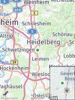 Here Map of Kirchheim