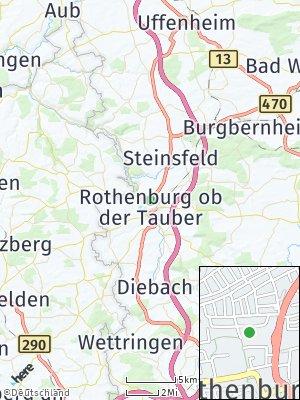 Here Map of Rothenburg ob der Tauber