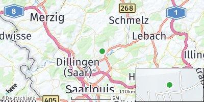 Google Map of Nalbach