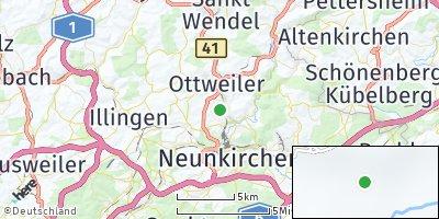 Google Map of Ottweiler