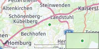 Google Map of Langwieden