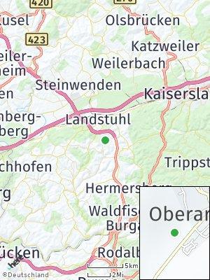 Here Map of Oberarnbach