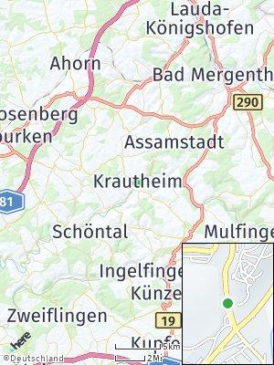 Here Map of Krautheim
