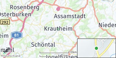 Google Map of Krautheim