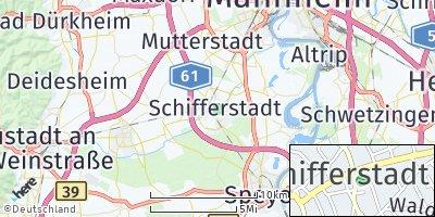 Google Map of Schifferstadt