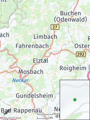Here Map of Elztal