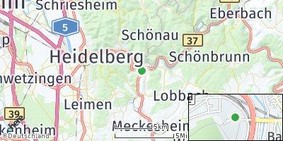 Google Map of Neckargemünd