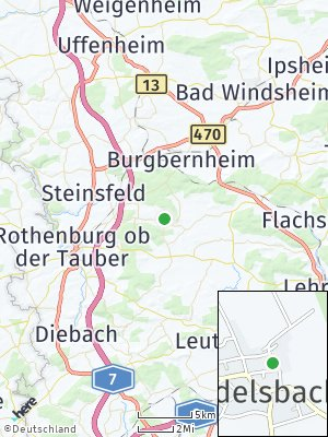 Here Map of Windelsbach