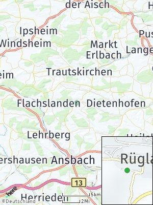 Here Map of Rügland