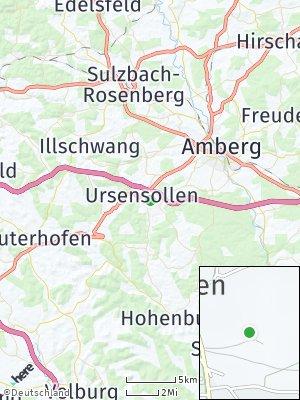 Here Map of Ursensollen