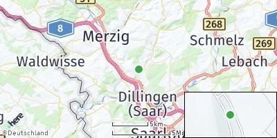Google Map of Beckingen