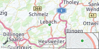 Google Map of Lebach