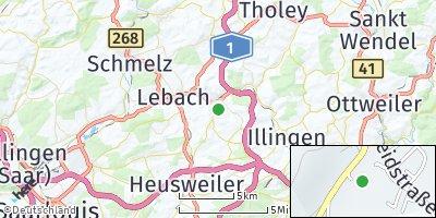 Google Map of Eppelborn
