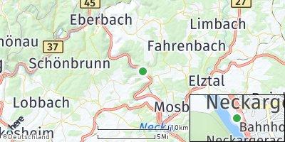 Google Map of Neckargerach