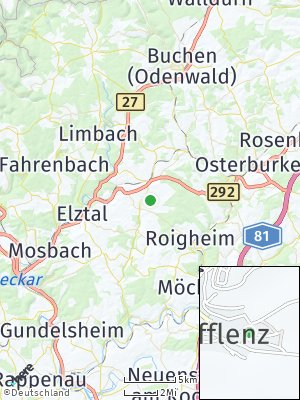 Here Map of Schefflenz