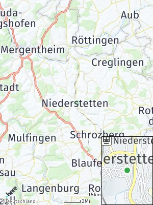 Here Map of Niederstetten