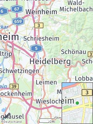 Here Map of Heidelberg