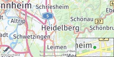 Google Map of Heidelberg