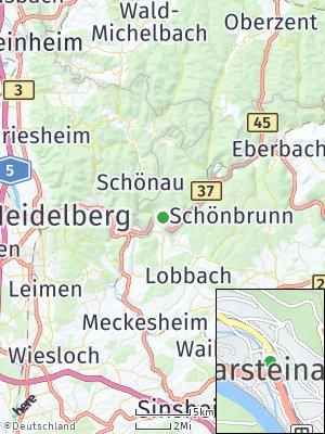 Here Map of Neckarsteinach