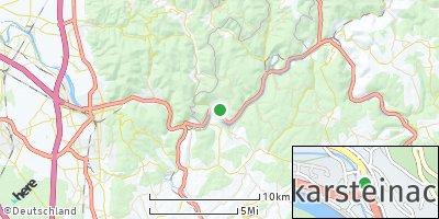 Google Map of Neckarsteinach