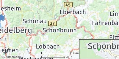 Google Map of Schönbrunn
