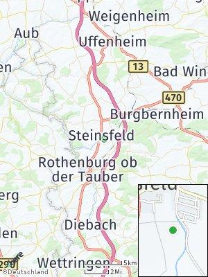 Here Map of Steinsfeld
