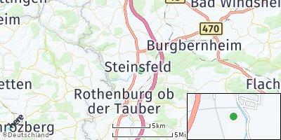 Google Map of Steinsfeld