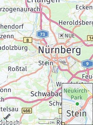 Here Map of Stein bei Nürnberg