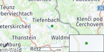 Google Map of Treffelstein