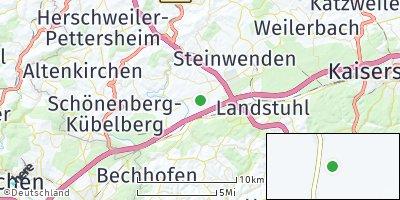 Google Map of Hütschenhausen
