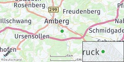 Google Map of Kümmersbruck