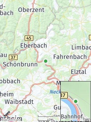 Here Map of Zwingenberg