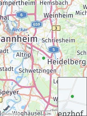 Here Map of Grenzhof
