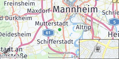 Google Map of Limburgerhof
