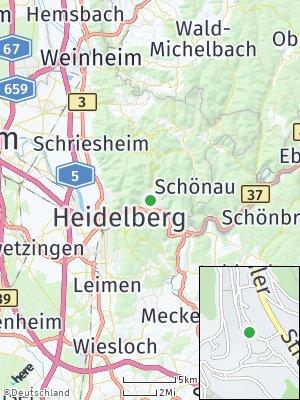 Here Map of Ziegelhausen